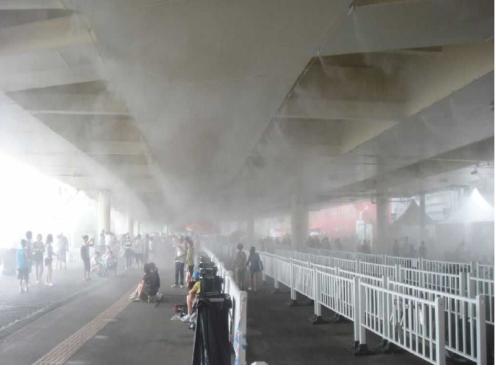 户外公共环境降温